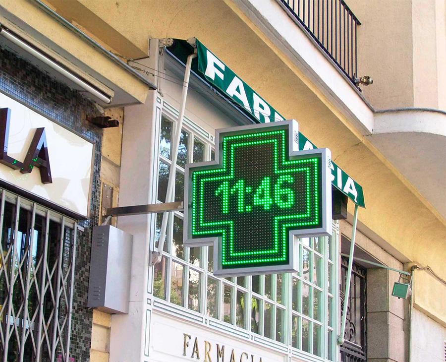cruz para farmacia alexa