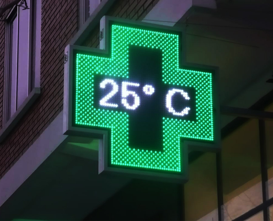 cruz farmacia verde